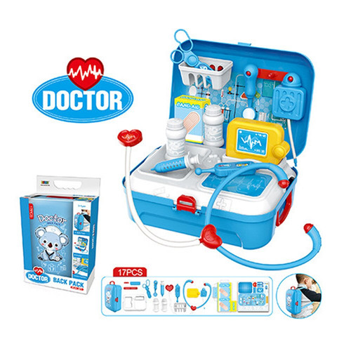 Foto Produk Doctor Back Pack Set 17 pcs   Mainan Dokter Dokteran Tas Ransel dari ciustoys