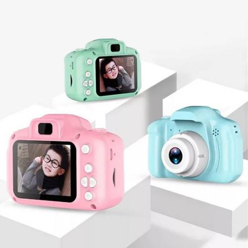 Foto Produk Kamera Anak / Kamera Kids Mini Action Anak / Camera Digital Mini Kids - PINK dari Rejeki828