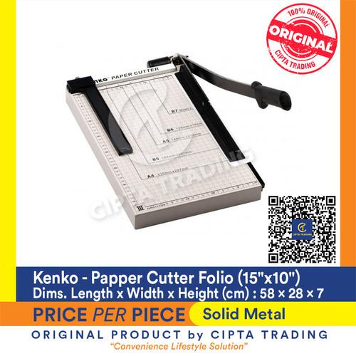 "Foto Produk Kenko Paper Cutter Folio Size 15""X10"" dari Cipta Trading"