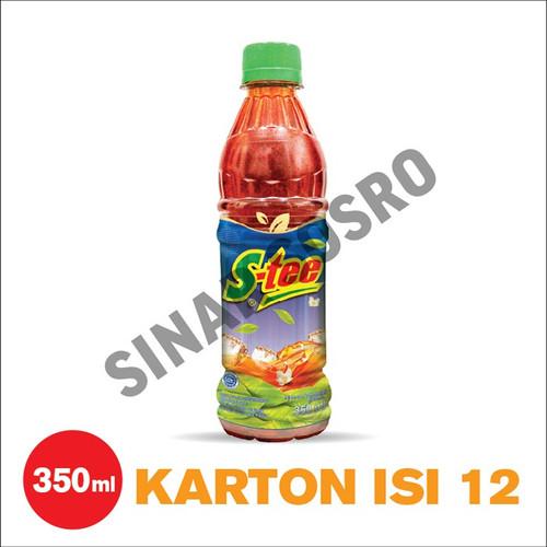 Foto Produk S-tee Botol PET 350 ml isi 12 dari Sosro Official Store