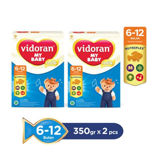 Foto Produk Vidoran My Baby Nutriplex Susu Formula [350 g] 6 - 12 bulan / 2 Pcs dari Tempo Store Official