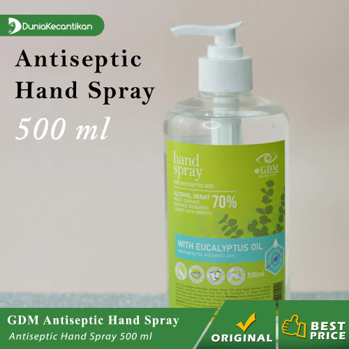 Foto Produk GDM Hand Sanitizer Gel Eucalyptus Antiseptik Gel 500ml BPOM Alkohol dari DuniaKecantikan