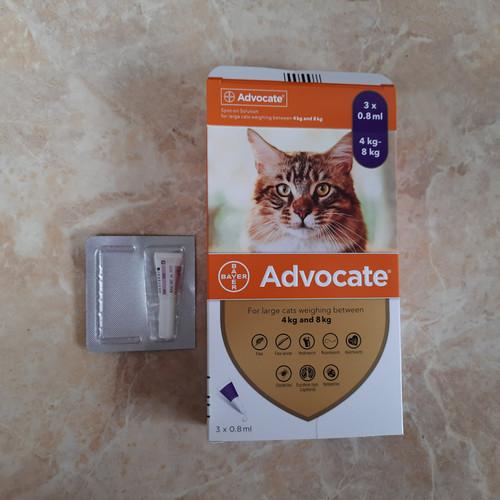 Jual Obat Kutu kucing advocate 4kg to 8kg - Kota Surabaya - nu3pet - Tokopedia