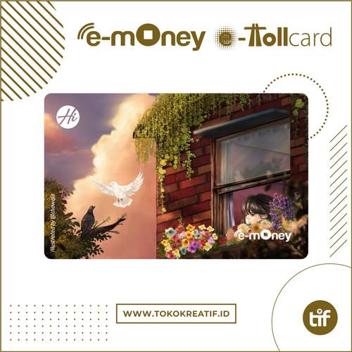 "Foto Produk eMoney eToll Mandiri ""Evening"" dari TokoKreatif ID"
