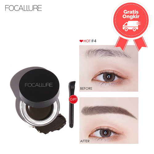 Foto Produk FOCALLURE Waterproof Longlasting Eyebrow Cream FA23 - FA23-01 dari beauty entity