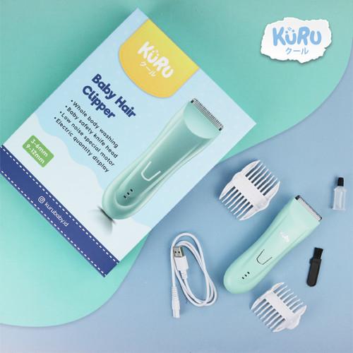 Foto Produk KURU Electric Baby Hair Clipper - Alat Cukur Rambut Bayi Elektrik dari bobo baby shop