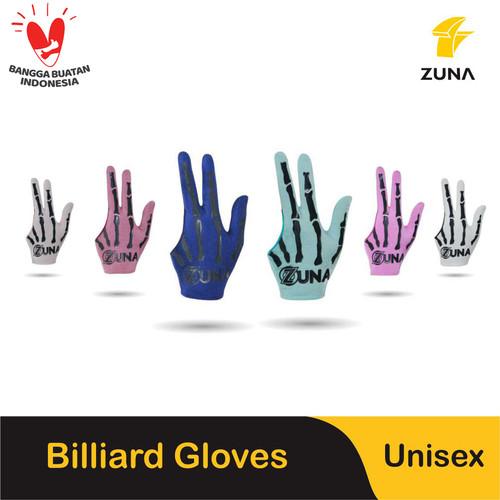 Foto Produk Zuna Gloves Billiard Unisex X-Ray - Merah Muda dari Zuna Gloves