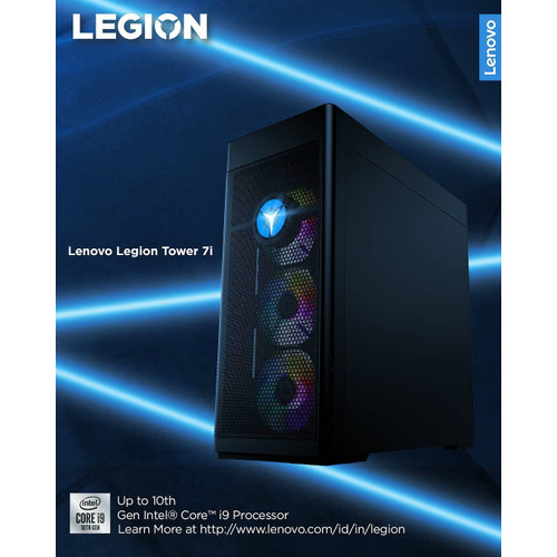 Foto Produk LENOVO LEGION TOWER 7i GAMING DESKTOP dari ITGARAGEID