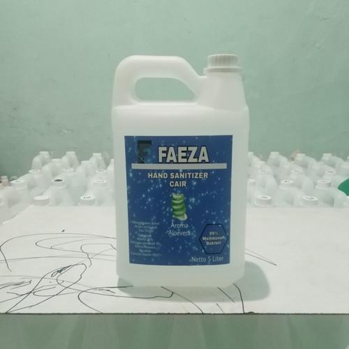 Foto Produk hand sanitizer cair 5 liter dari syaqiira