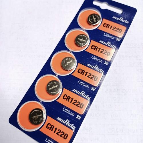 Foto Produk Batre Battery Baterai Sony CR1220 Sony CR 1220 Original - Murata 1220 dari grojam