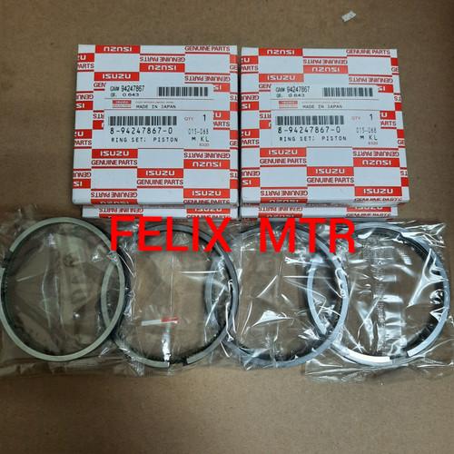 Foto Produk RING PISTON RING SEHER SET PANTHER 2.5 2.500CC NHR55 STD dari Felix_motor