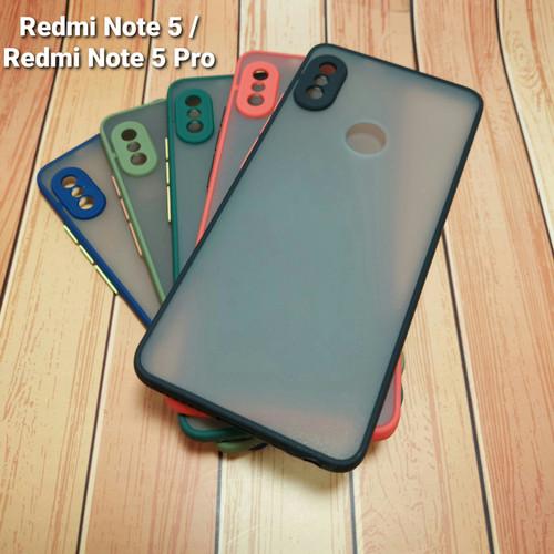 Foto Produk Shockproof Doft Case Xiaomi Redmi Note 5 / Redmi Note 5 Pro dari Selalu Kasih murah