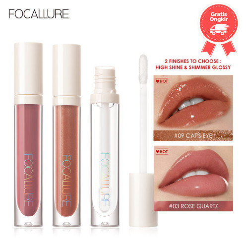 Foto Produk FOCALLURE Plumpmax lipstick glossy waterproof long lasting FA153 - FA153-01 dari beauty entity