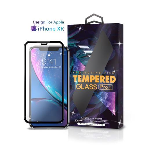 Foto Produk Tempered Glass iPhone Xr Full Cover Black - Premium Glass Pro dari Glass Pro Indonesia