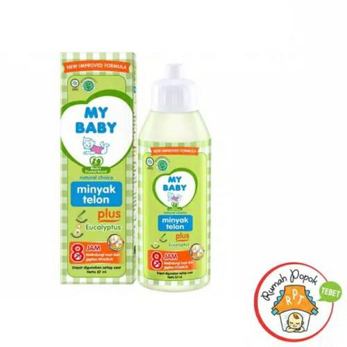 Foto Produk My baby Minyak Telon 60ml 90ml 150ml - My baby 60ml dari GB Multi Sukses