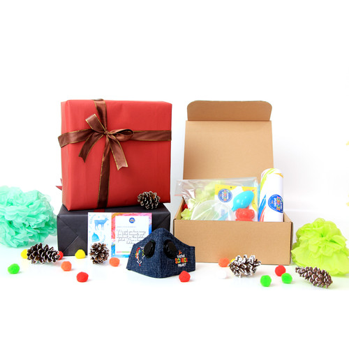 Foto Produk ESP Gift Box Hampers 1 - Science Kit Bath Bomb & Mask / Pencil Case dari Einstein Science Project