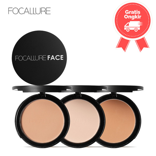 Foto Produk FOCALLURE Face Powder With Sponge FA-16 - FA16-01 dari beauty entity
