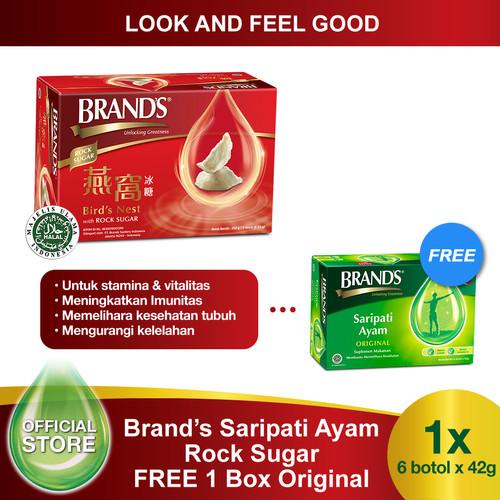 Foto Produk Brand's Bird Nest 42 Gr with Rock Sugar Free 1 Box Brand's Original dari Brand's Official