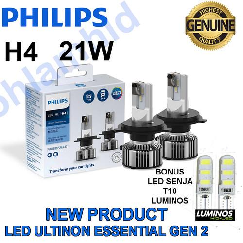 Foto Produk LAMPU LED PHILIPS H4 Hi Lo ULTINON ESSENTIAL G2 HEADLAMP (putih) dari Bohlam HID