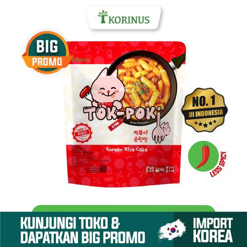 Foto Produk Korinus K - Bunsik Tokpoki MILD / Tteokbokki / Tok-Poki Instan dari KORINUS