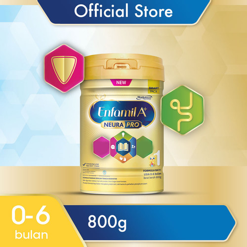 Foto Produk Enfamil A+ 1 Susu Formula Bayi Plain 800g dari Enfa A+ Official Store