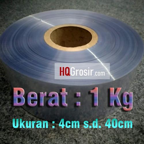 Foto Produk Plastik Segel (Shrink Film/Plastik Shrink/Heat Shrink) - 1kilogram - 13cm dari HQ Stationary and Packaging
