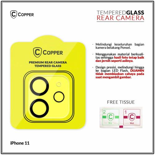 Foto Produk Iphone 11 - Copper Tempered Glass Kamera dari Copper Indonesia