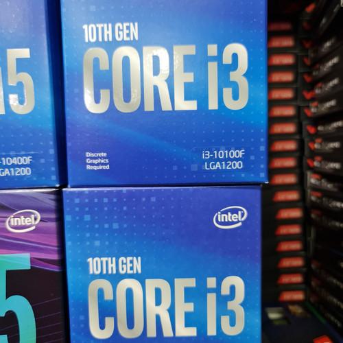 Foto Produk PROCESSOR I3 10100F BOX dari AL computerr
