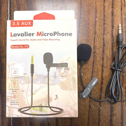 Foto Produk Lavalier Clip ON GL-199 Mic Headset Microphone dari Perfect_Cell