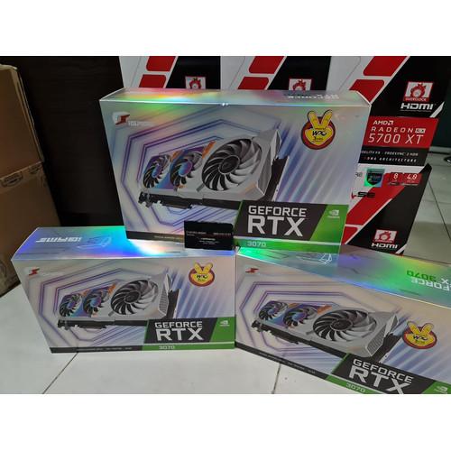 Foto Produk VGA Colorful iGame Geforce RTX 3070 / RTX3070 8GB Ultra OC V - white dari chandut
