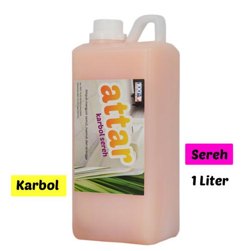 Foto Produk Karbol SEREH Wangi - Attar 1 Liter dari Tasneem