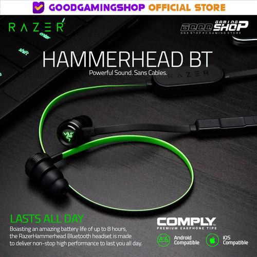 Foto Produk Razer Hammerhead Bluetooth - Gaming Earphone dari Goodgamingshop