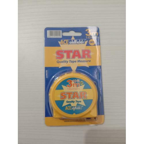 Foto Produk METERAN ACE OLDFIELDS STAR 3M dari BKO Wooden shop