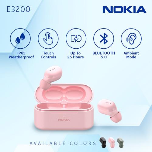 Foto Produk Nokia True Wireless TWS Earphone E3200 - Pink dari Nokia Audio Official Store