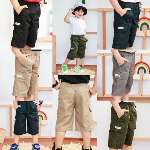 Foto Produk Celana Anak Cargo Pendek Littlebee Size 1-5Tahun - 1tahun, Hitam dari baby smile