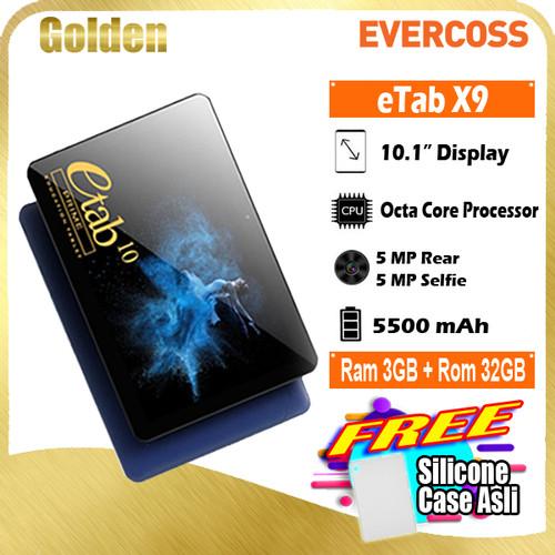 Foto Produk Evercoss Etab X9 3/32 Ram 3gb Internal 32gb 10 Inch Garansi Resmi - Abu-abu dari Golden Cellular