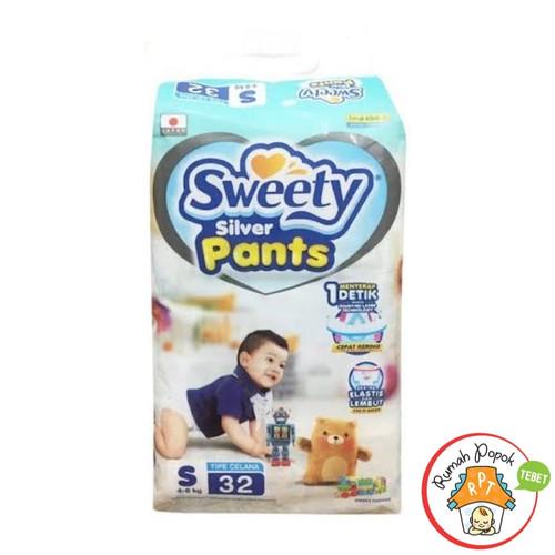 Foto Produk Sweety Silver pants S32 M30 L28 XL26 XXL24 - Sweety SP S32 dari GB Multi Sukses