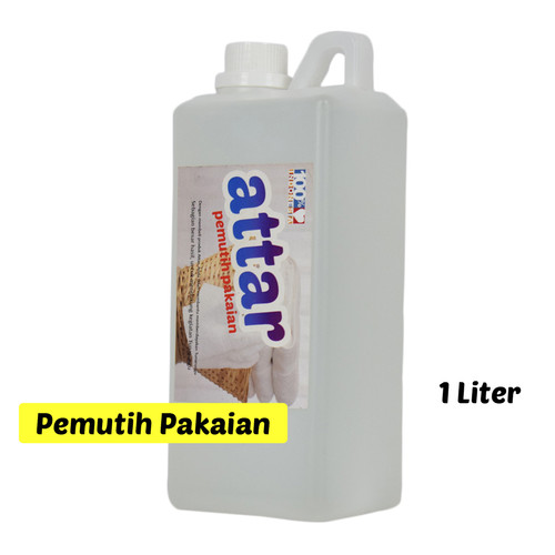 Foto Produk Pemutih Pakaian ATTAR / Bleach Laundry 1 Liter (1000 ml) dari Tasneem