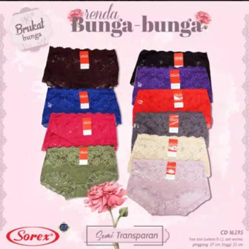 Foto Produk celana dalam wanita Lace Sorex 16295 dari MMcollections mom&kids