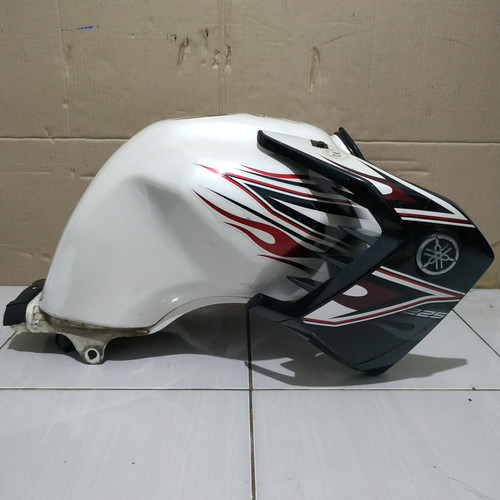 Foto Produk Tanki Tangki Bensin Yamaha Scorpio Putih - Aksesoris Sparepart Motor dari Wahana Sparepart