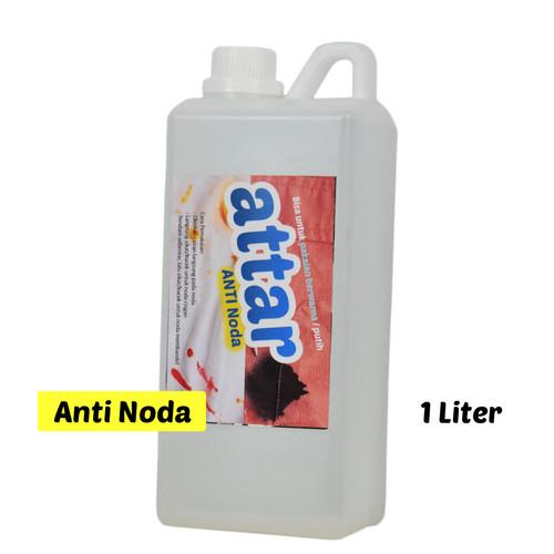Foto Produk Cairan Pembersih ANTI NODA Pakaian & Kain ATTAR - 1 Liter dari Tasneem