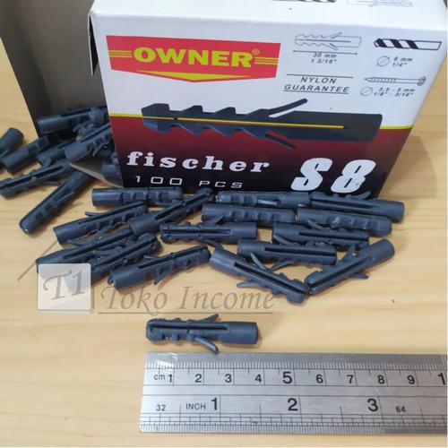 Foto Produk FISHER S8/100 PCS FIXER VISER VISHER PENGENCANG SKRUP dari Toko Income