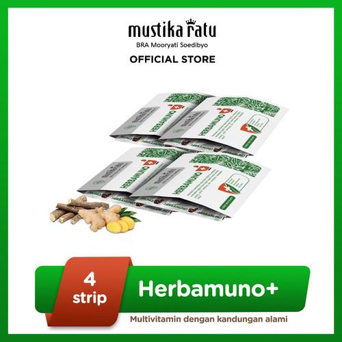 Foto Produk Herbamuno+ Immune Modulator Starter Pack 4 Strip dari Mustika Ratu
