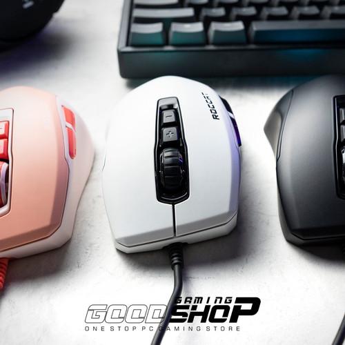 Foto Produk Roccat Kone Pure ULTRA-LIGHT 66gr - Gaming Mouse - Putih dari Goodgamingshop