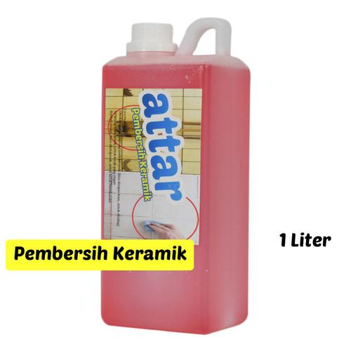 Foto Produk Cairan Pembersih KERAMIK WC & Toilet - 1 Liter - Untuk Kerak Membandel dari Tasneem