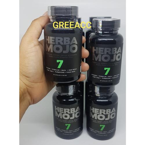 Foto Produk Herbana Herbamojo 60 Kapsul Obat Stamina Pria Alami Herba Mojo dari Greeacc