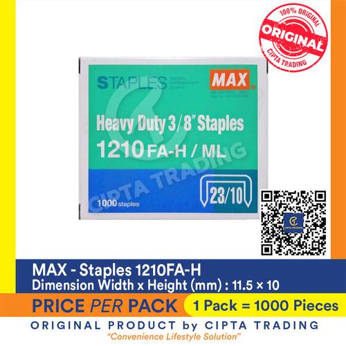 Foto Produk Staples Max 1210FA-H dari Cipta Trading