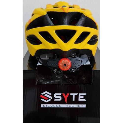 Foto Produk HELM SEPEDA PACIFIC SP-J 130 BICYCLE HELMET - Kuning dari LatteBless