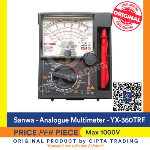 Foto Produk Analog Multimeter SANWA YX-360TRF dari Cipta Trading