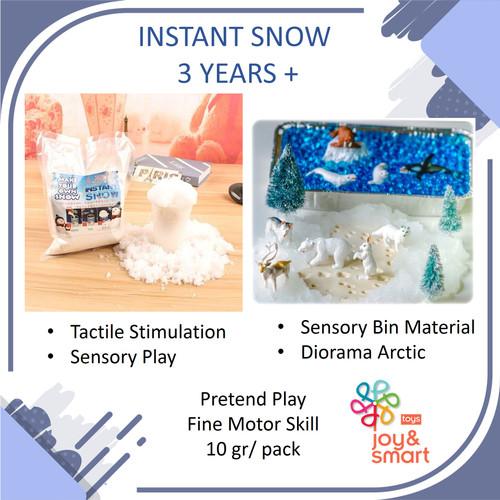 Foto Produk INSTANT SNOW | MAINAN SALJU DIY | SENSORY PLAY | MAINAN EDUKASI dari Joy and Smart